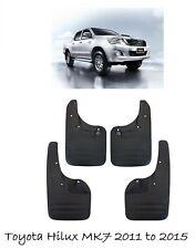 Mudflaps Mudguards Set (Front & Rear)For Toyota Hilux Vigo MK7 2011-2015 M00M00