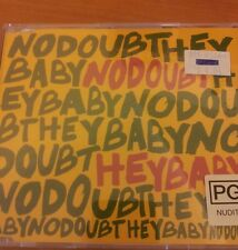 FREE POSTAGE No Doubt Hey Baby Single