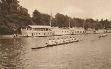 POSTCARD OF OXFORD ROWING EIGHTS