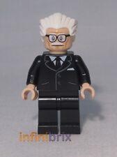 Lego Alfred Pennyworth from set 76052 Batman une Batcave Super Heroes sh237 NEUF