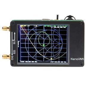 New 2.8 inch LCD NanoVNA 50KHz-900MHz Vector Network Analyzer Antenna Analyzer