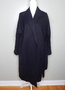 Everlane Women  The Cocoon Coat Black  Sz 8