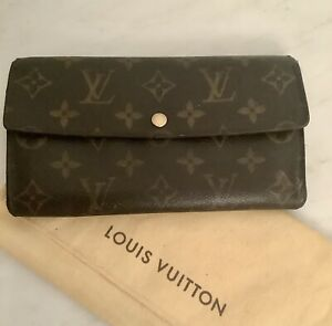 Louis Vuitton Sarah long Wallet purse Monogram