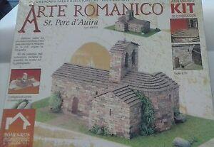 DOMUS KITS EDIFICIO 1:50 IN CERAMICA CHIESA ROMANICA SANT PERE D'AUIRA 40075
