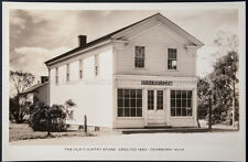 The Old Country Store, Erected 1854, Dearborn, Mich., Real Photo Postcard