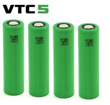 4 x Genuine SONY VTC5 Best Class 18650 30A 2600mAh High Drain Flat UK Batteries