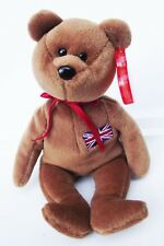 TY BEANIE BABY BRITANNIA BEAR 1997 P.E. RETIRED 5TH GEN HANG TUSH TAG INDONESIA