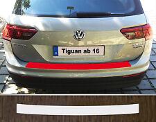 Protección de Bordes Carga Pintar Plástica Transparente VW Tiguan, desde 2016