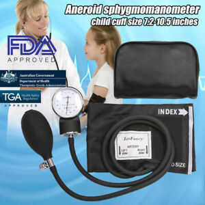 Manual Blood Pressure Cuff Monitor Aneroid Sphygmomanometer For Pediatrics Child