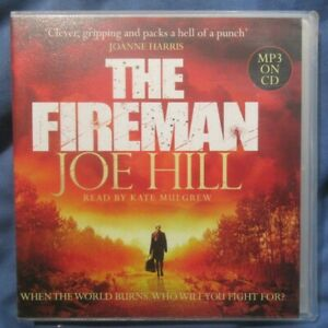 Joe Hill, The Fireman, Unabridged audio book CD, 2 MP3 CDs