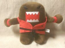 "DOMO kun 12"" Plush Stuffed Toy Doll Karate Red Uniform Shirt NHK 2014 Kellytoy"