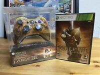 Fable III Limited Collector's Edition Controller & Game For XBOX 360 | SEALED 🔥