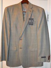 Austin Reed Homme Bleu/Vert Soie et Blazer en Laine Taille 42L