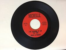 POP 45 RPM RECORD - DLAE & GRACE - MICHELLE RECORDS 921