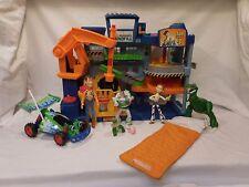 Disney Toy Story Imaginext Tri-County Landfill Playset + Dino + Jessie + Car +