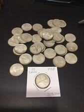 1968 Canada 25 Cent Silver Quarter Elizabeth II 1x (50% Silver)