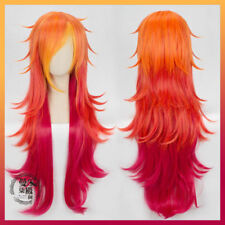 LOL League of Legends Miss Fortune Star Guardian Cosplay Wig Curly Long Hair