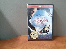 Lemony Snickets A Series of Unfortunate Events (DVD + Blank Book) BRAND NEW