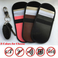 Autoschlüssel Signal Blocker Fall Keyless Entry Fob Guard Blockierung Tasche
