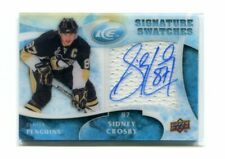 2009-10 Upper Deck Ice Signature Swatches #SSSC Sidney Crosby