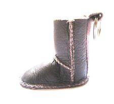 UGG Keychain Brown Boot