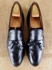 ALLEN EDMONDS Grayson Tassell Moc Loafer Black Slip On Shoe Men 10.5 AA Narrow
