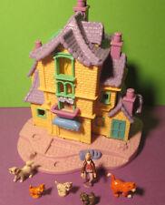 Polly Pocket Mini Disney ♥ ARISTOCATS Villa ♥ 100% Komplett ♥ 1996 ♥ selten!