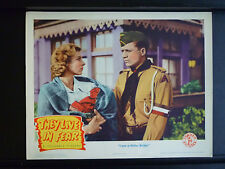 1944 THEY LIVE IN FEAR - N. MINT LOBBY CARD - WWII - NAZIS - WAR - HITLER YOUTH