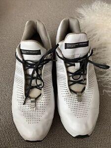 Men's Adidas Porsche Design White Trainers UK 11