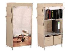 Stoffschrank Bücherschrank Bücherregal Regal mit Buch Motiv Zeitungshalter
