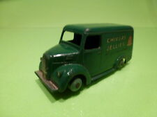 DINKY TOYS 452 TROJAN 15CWT VAN - CHIVERS JELLIES - GREEN - GOOD CONDITION