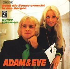 """Adam & Eve Wenn die Sonne erwacht in den Bergen  [7"""" Single]"""
