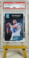 2016 Panini Donruss Optic DAK PRESCOTT #162 PSA 10 Rated Rookie RC Cowboys