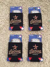 Lot of 4 Houston Astros Kolder Kaddy Can Holder black color