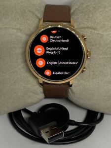 Fossil Gen 4 Authentic Digital Dial Smart Watch Custom Band FTW6031 ZA173