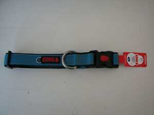 "KONG  20 Padded Dog Collar - Comfort Blue - XLarge - 20"" to 28"" - NEW"