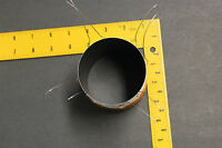 "76mm 3"" QUAD1 ohm black alumin fomer COPPER WIRE SUBWOOFER speaker voice coil 3"