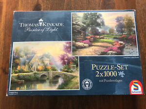 Schmidt Puzzle 2 x 1.000..., Thomas Kinkade