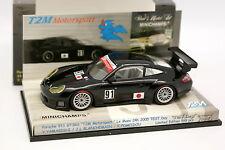 Minichamps 1/43 - Porsche 911 GT3 RS T2M Test Le Mans 2005