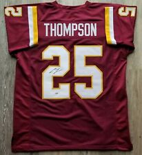 Chris Thompson autographed signed jersey NFL Washington Redskins PSA COA