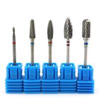 Electric Nail Art Drill Ceramic Bits File Cuticle Manicure Pedicure Tool New Hot