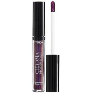 L'Oreal Chroma Morphose Glitter Pressed Lipstick 04 Deep Venom
