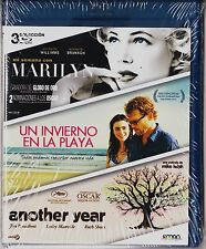 Pack 3 blu-ray: MARILYN, UN INVIERNO EN LA PLAYA y ANOTHER YEAR. Tarifa plana en