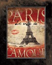 La Ville de Lamour Pied Piper Art Print 11x14