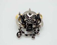 Lemmy, Motorhead Pin Badge, Rock, Heavy Metal, Biker, Hells Angels, Support 81..