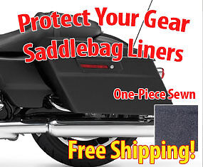 Protect Your Gear with Liners | Harley Davidson Touring Electra Glide Road King
