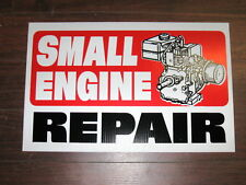 Auto Repair Shop Sign: Small Engine Repair