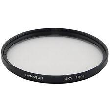Filtro Skylight 72 mm SKY 72mm con Custodia per Canon Nikon Sony Olympus Pentax