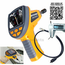 3.5 LCD 3.9MM Camera Video Inspection Endoscope Pipe Car Borescope 180° Rotation