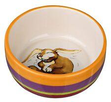 Trixie 60803 Ceramic Dog Bowl – Rabbit